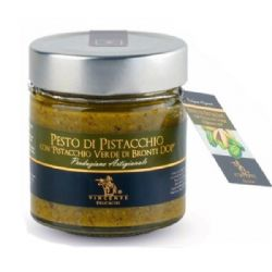 Pistachio Pesto | Sicilian Bronte DOP | Vincente | Buy Online | Italian Food | UK | Europe